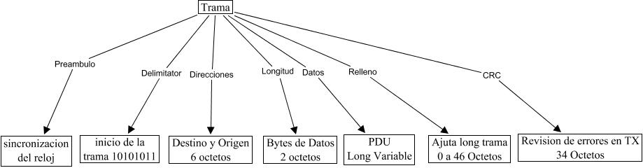 TramaEthernet - Campos de la Trama Ethernet