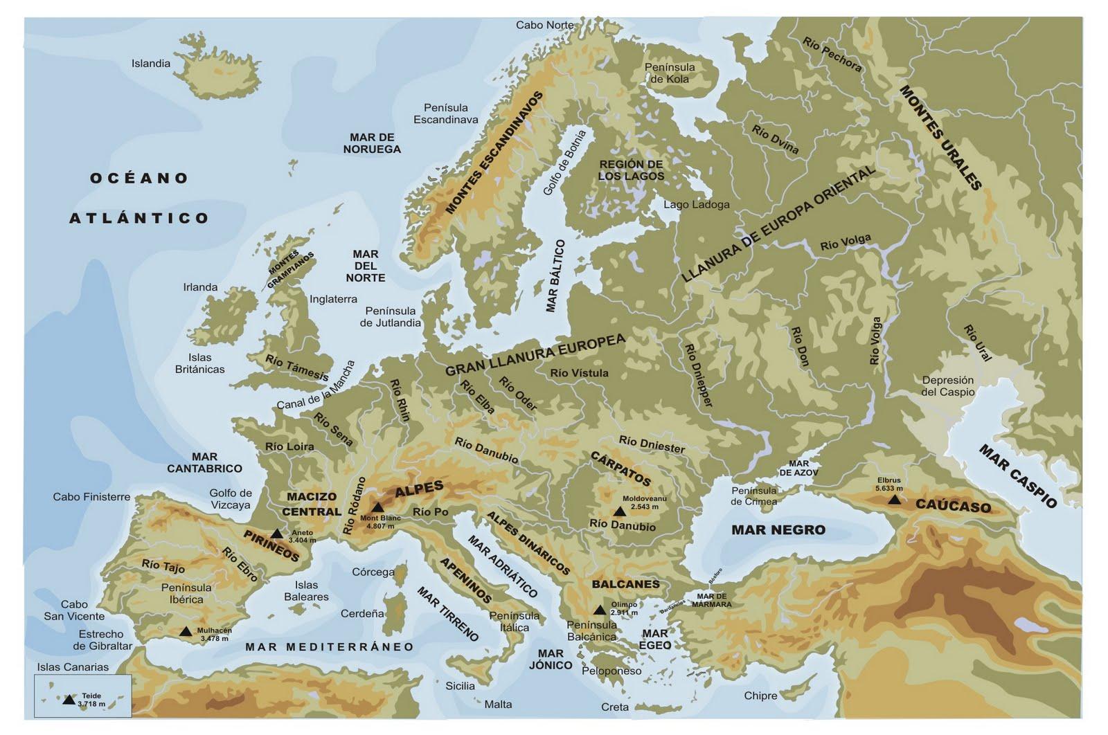 Mapa Rios De Europa.Ihmc Public Cmaps 3
