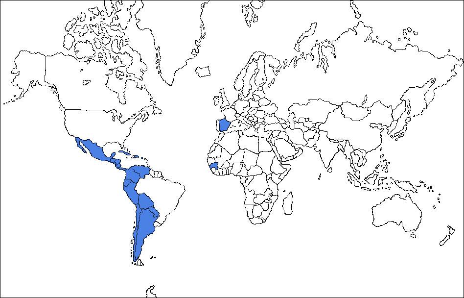 Image Result For Map Of Guinea Ecuatorial