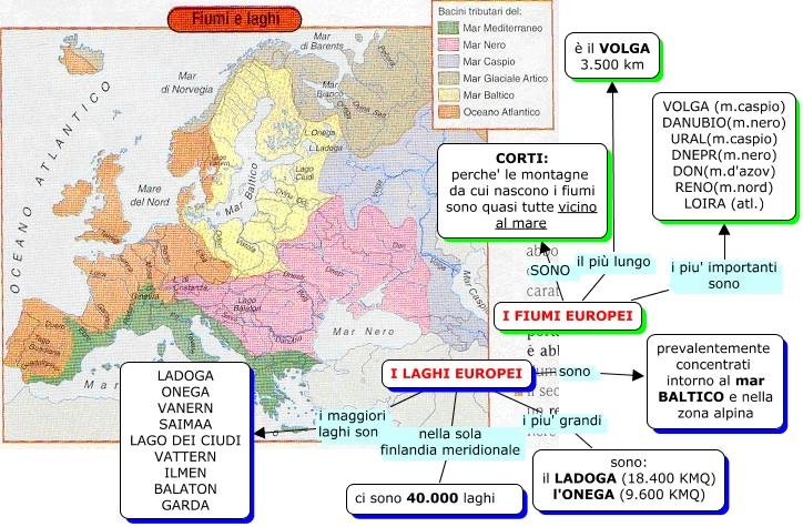 Laghi Europa Cartina.Europa Lessons Tes Teach