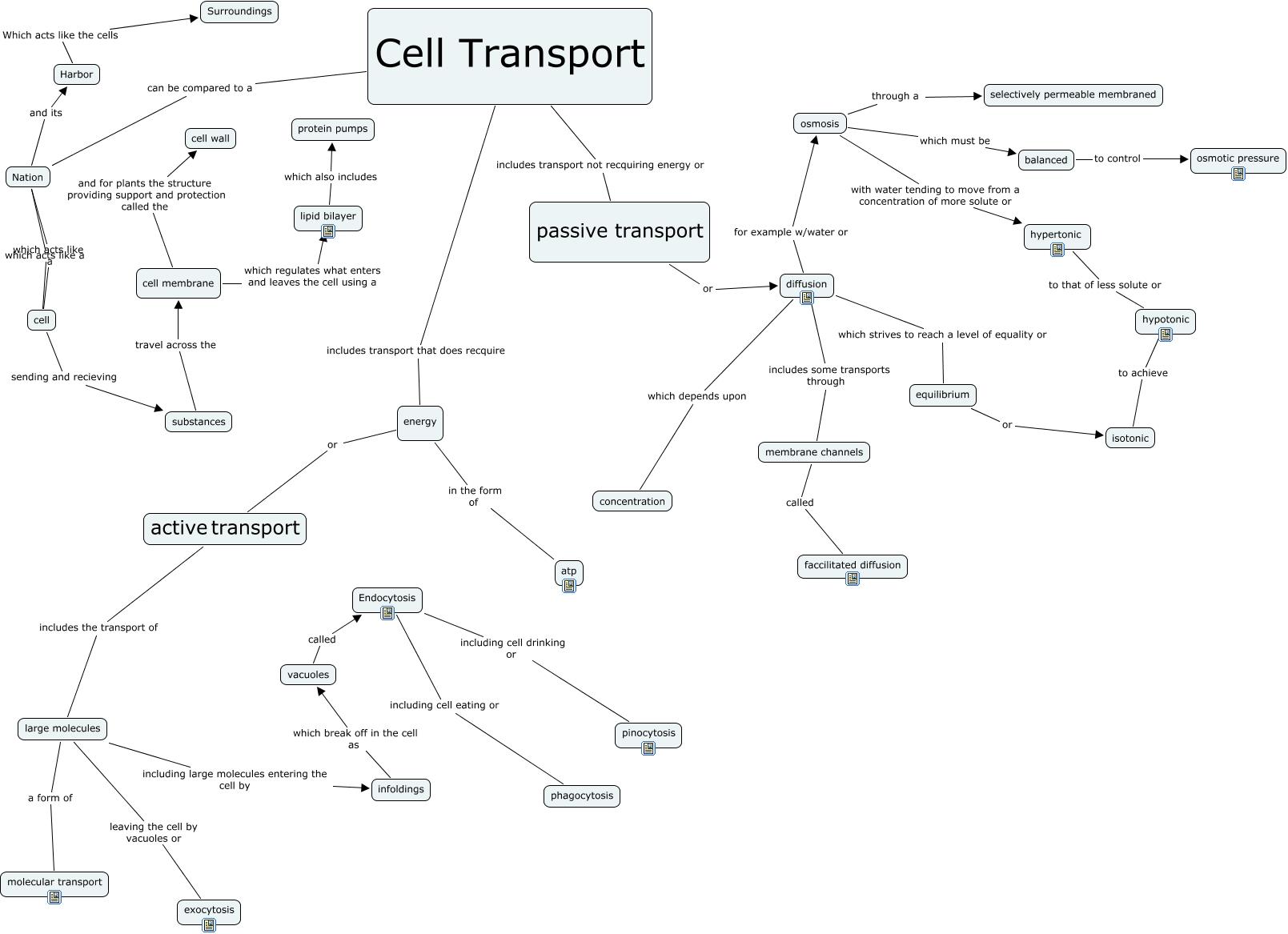 1 Cellular Transport