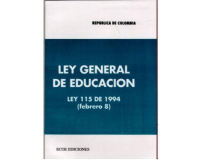 1 1994 ley general de la: