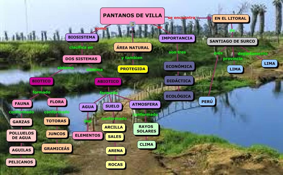 Pantanos de villa for Como estan formados los suelos