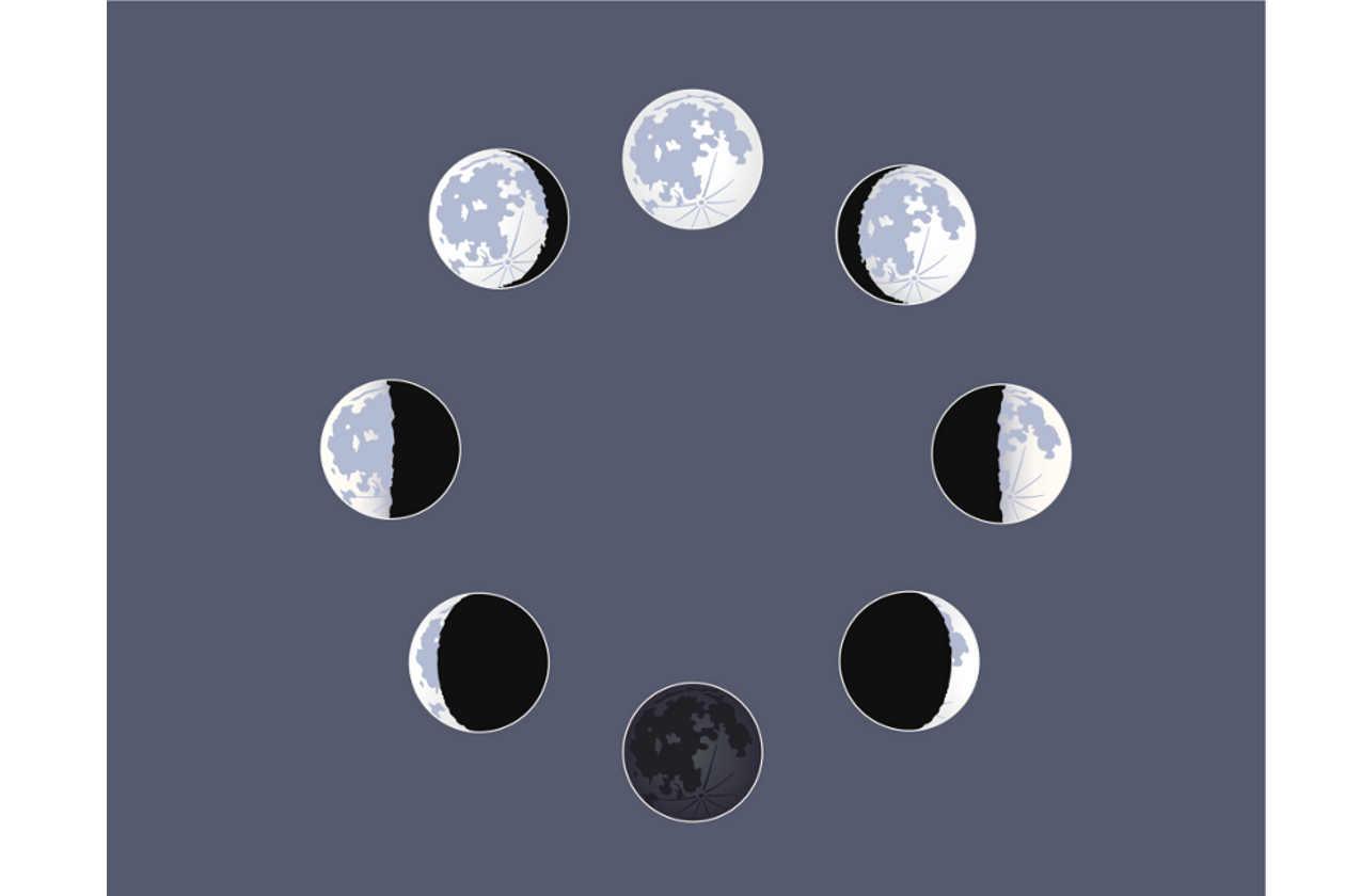 Calendario Con Fases De La Luna Para Imprimir | Noticias de los Mundos